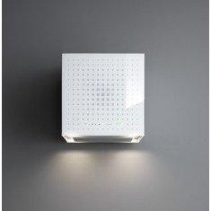 Seina õhupuhastaja Falmec RUBIK E-ION 42cm, 450 m3/h, LED 4Xx1,2W (3200K), valge klaas