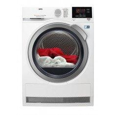 Kuivati AEG soojuspumbaga, inverter, 8 kg, A++, LCD, valge