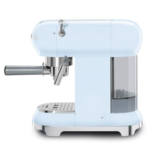 Espresso kohvimasin Smeg, 50`ndate stiil, pastellsinine