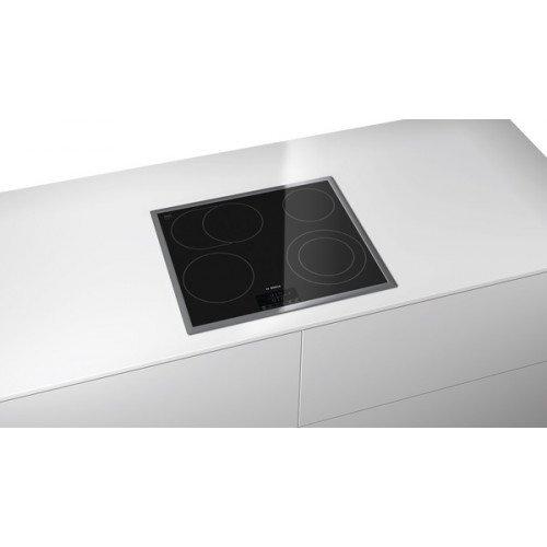 Pliidiplaat Bosch, 4 x HighLight, 60 cm, must, RV raam