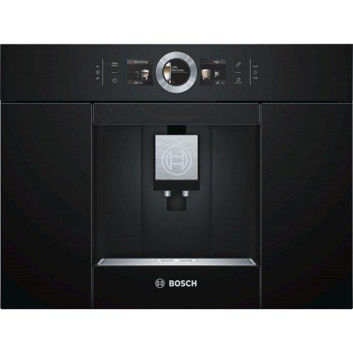 Espresso kohvimasin Bosch, integreeritav, must