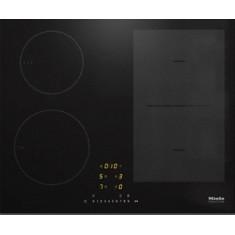 Pliidiplaat Miele KM 7404 FX, 4 x induktsioon, 60 cm, lõigatud serv, must