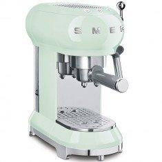 Espresso kohvimasin Smeg, 50`ndate stiil, pastellroheline