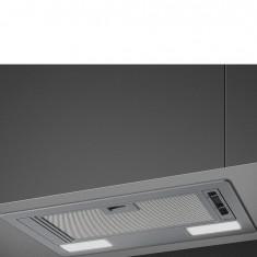 Õhupuhastaja Smeg, integreeritav, 53 cm, RV teras, 54 dB, hõbedane