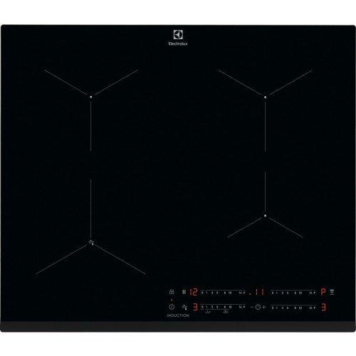Pliidiplaat Electrolux, 4 x induktsioon, 60 cm, Hob2Hood, faasitud esiserv, must