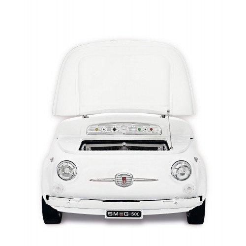 Salongi näidis! Külmik Smeg Fiat500, A+, 42 dB, valge
