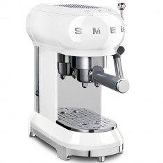 Espresso kohvimasin Smeg, 50`ndate stiil, valge