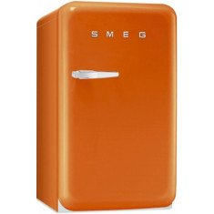Külmik Smeg, 50-ndate stiil, 96cm, A+, 37 dB, mehaaniline juhtimine, oranž