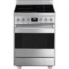 29ce5a85bf0 Elektripliit Smeg Classic, 60 cm, 4x induktsioon, elektriahi, pürolüüs, rv  teras - E-Lux
