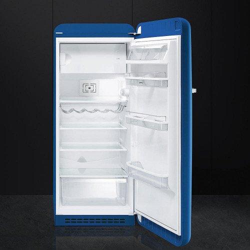 Külmik Smeg, 50-ndate stiil, 151cm, A++, 40 dB, mehaaniline juhtimine, sinine