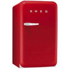 Külmik Smeg, 50-ndate stiil, 96cm, A+, 37 dB, mehaaniline juhtimine, punane
