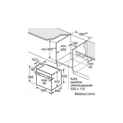 Ahi Bosch, 71 l, A, pürolüüs, RV teras