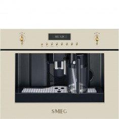 Espresso kohvimasin Smeg, int., automaatne piimavahustaja, Colonial/Cortina, kreem