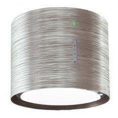 Seina õhupuhastaja Falmec TWISTER E-ION 45cm, 450 m3/h, LED 4x1,2W (3200K), titanium