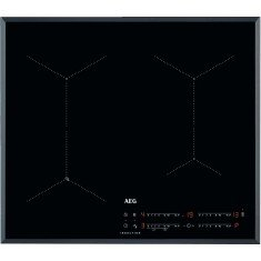 Pliidiplaat AEG, 4 x induktsioon, 60 cm, Hob2Hood, faasitud, must