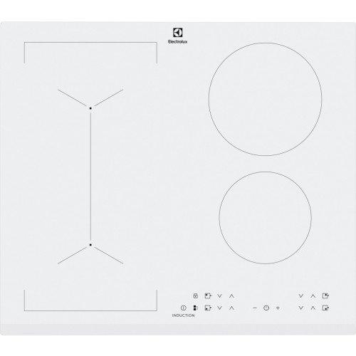 Pliidiplaat Electrolux, 4x Induktsioon, 60cm, valge, faasitud esiserv