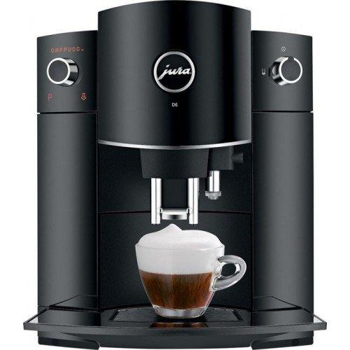 Espressomasin Jura D6, must