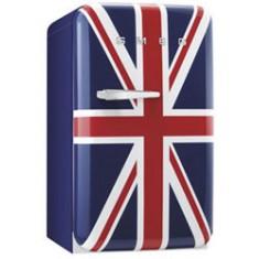 Külmik Smeg, 50-ndate stiil, 96cm, A+, 37 dB, mehaaniline juhtimine, Union Jack