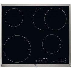 Pliidiplaat AEG, 2x induktsioon, 2x high light, 60 cm, must, RV raam