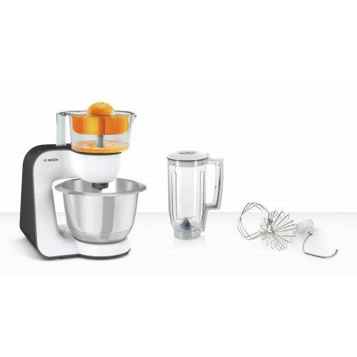 Köögikombain Bosch, 800 W, valge/antratsiit