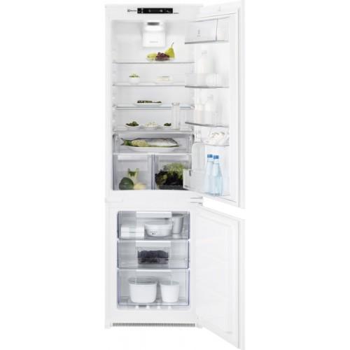 Külmik Electrolux, integreeritav, 178 cm, NoFrost, 35 dB, puutetundlik, valge