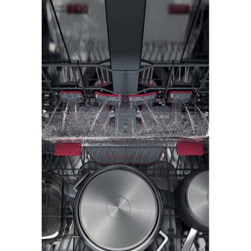 Nõudepesumasin Whirlpool, integreeritav, 3 korvi, 60 cm, 43 dB
