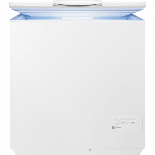 Sügavkülmkast Electrolux, A+, 210 l, 42 dB, valge
